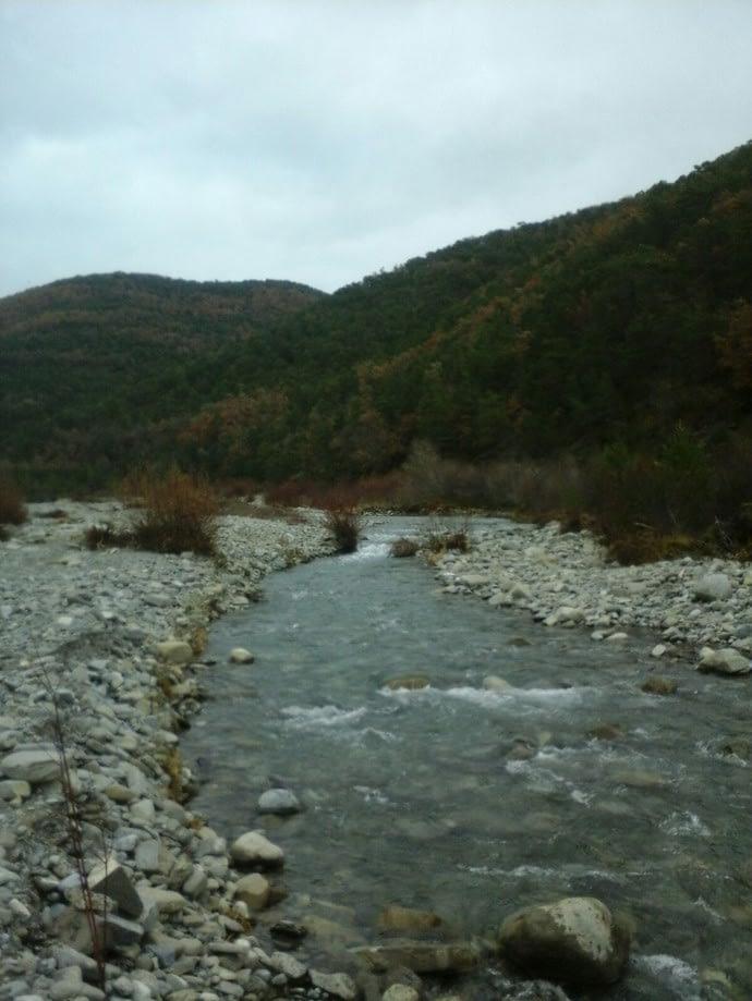 Río Estarrún en Aísa