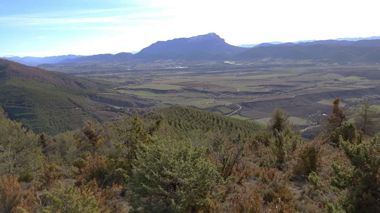 Pico Peña de Oroel en Jaca