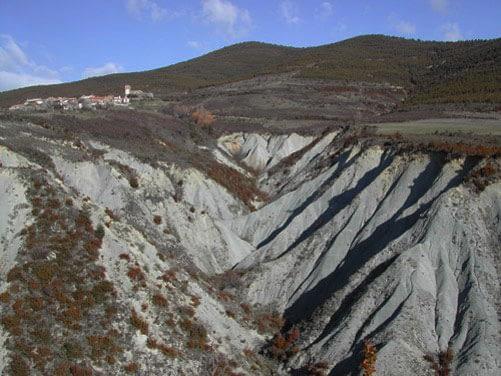 Cuencas experimentales en la ploblación Araguás