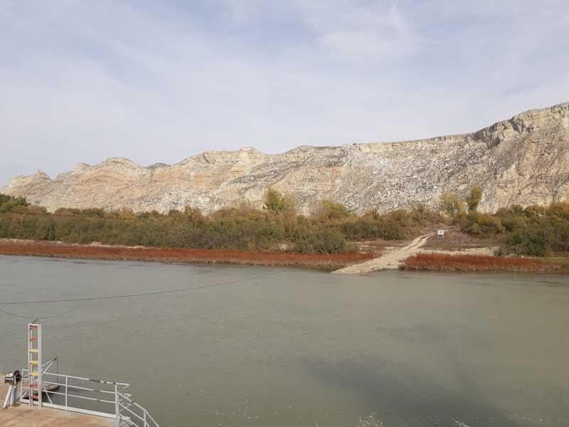 Zona embarcación del río Ebro