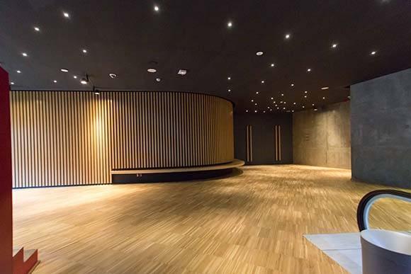 Fotografía interior Caixaforum Zaragoza